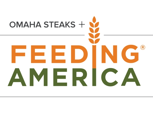 Omaha Steaks Partners with Feeding America to Help Provide Millions of Meals to Families in Need