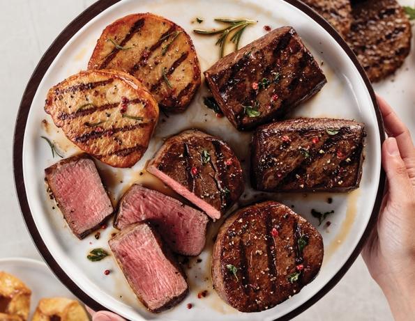 Omaha Steaks + Feeding America