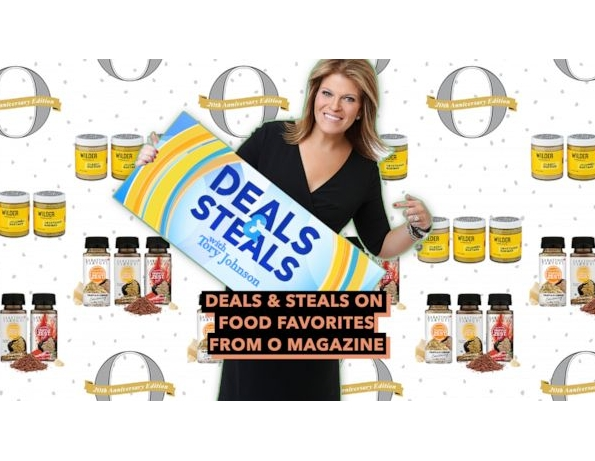 GMA Deals and Steals on Food Favorites from O Magazine