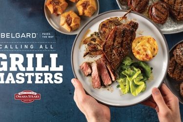 North America's Leading Outdoor Living Company to Award a Bordeaux Grill Island Kit, 12-month Subscription to Omaha Steaks® Monthly Steak Box to Lucky Homeowner