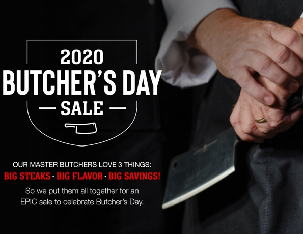 Omaha Steaks Celebrates Inaugural Butcher's Day Sale Oct. 13-14