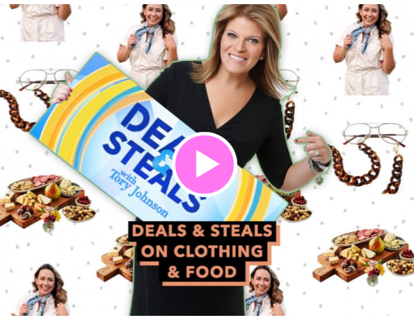 'GMA' Deals & Steals on clothing & food