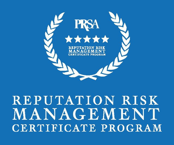 PRSA To Launch First-Ever Reputation Risk Management Certificate Program On May 16, 2018