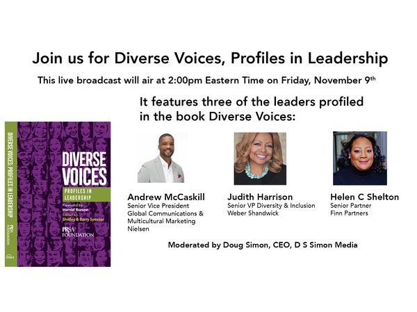 Live Broadcast: Diverse Voices, Profiles in Leadership