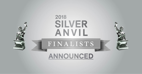PRSA Reveals List of Finalists for the 2018 Silver Anvil Awards