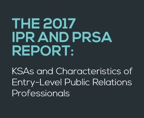 THE 2017 IPR AND PRSA REPORT