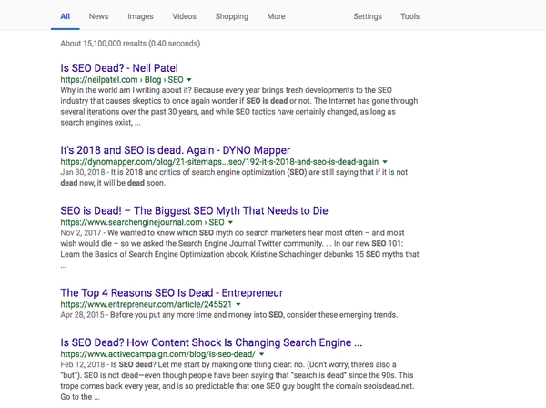 HOW TO WIN AT SEO