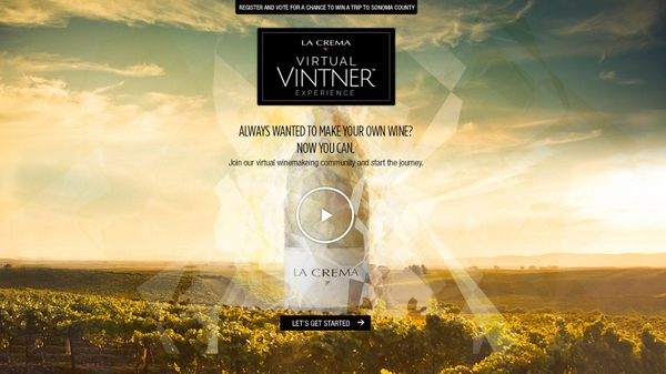 Silver Anvil Case Study 2015: La Crema Virtual Vintner Invites Fans to Design Own Wine
