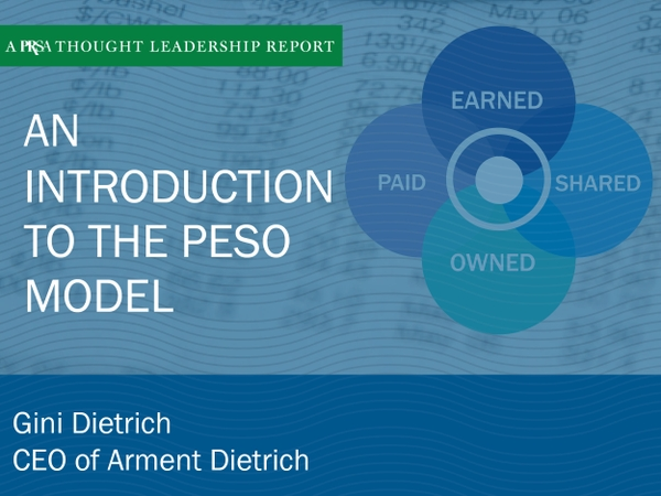 An Introduction to the PESO Model: A PRSA Thought Leadership Report