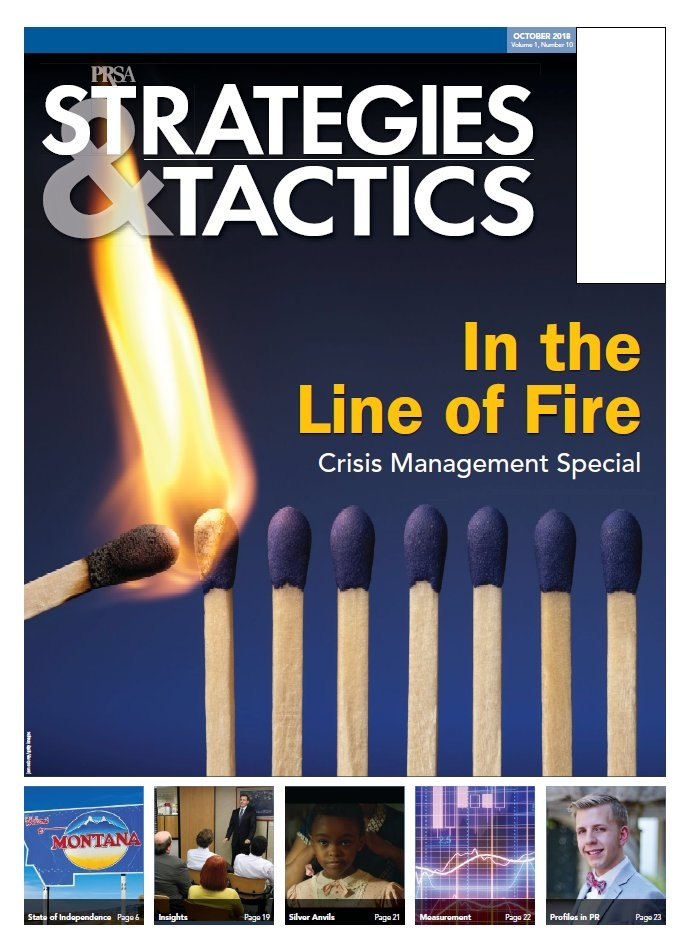 October 2018: Crisis Management