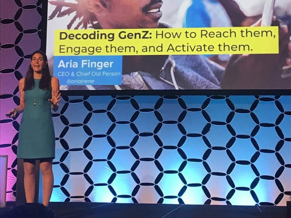 Conference Recap: Aria Finger on Inspiring Today's Youth