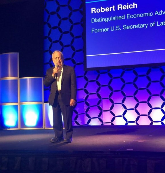 Conference Recap: Secretary Robert B. Reich on the Radical Act of Listening