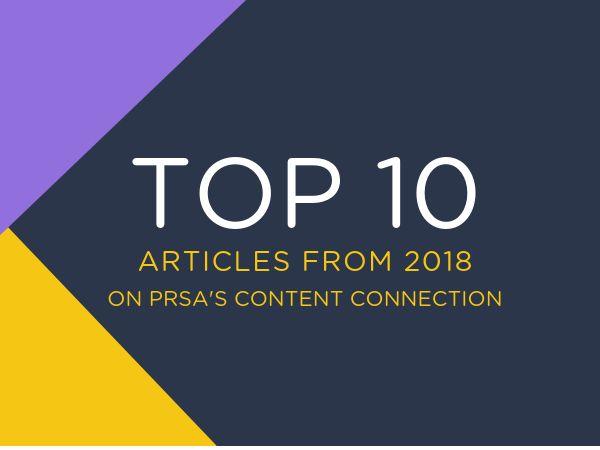 Top Ten Articles From 2018