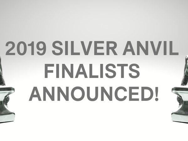 PRSA Reveals Finalists For 2019 Silver Anvil Awards