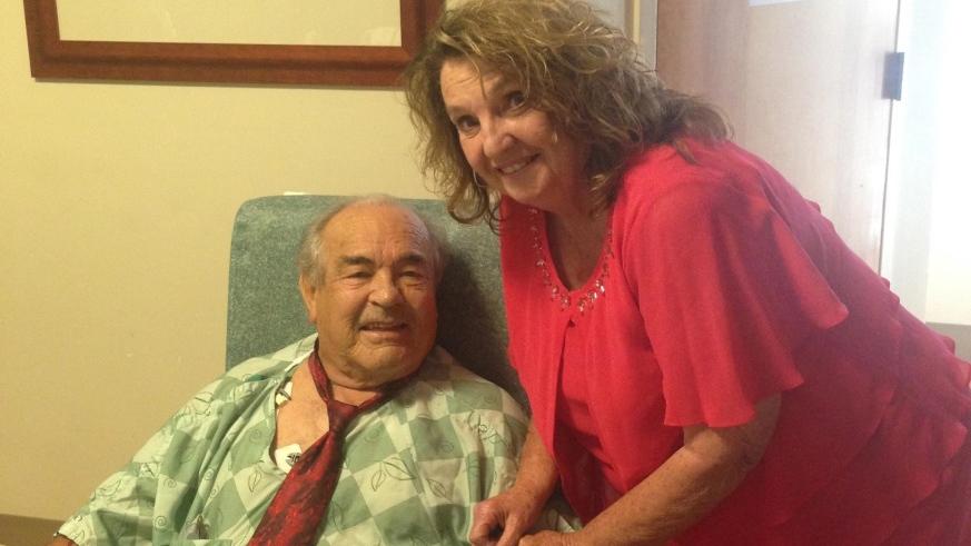 Nurse brings joy on a big day