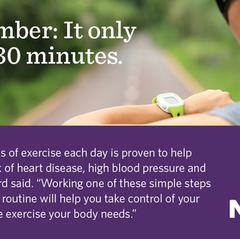 Seven easy ways to work in exercise