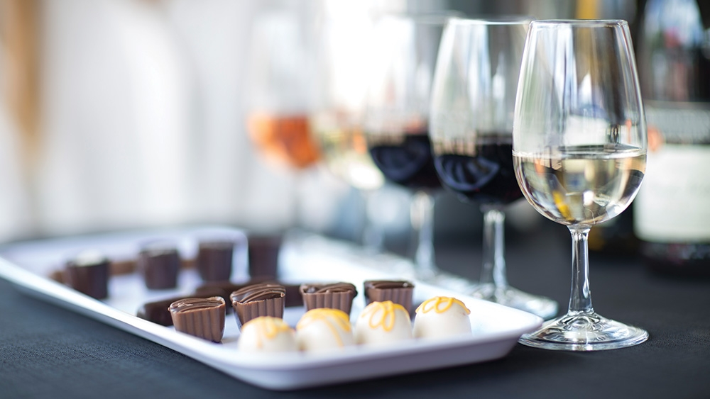 Wine and chocolate: The perfect pair