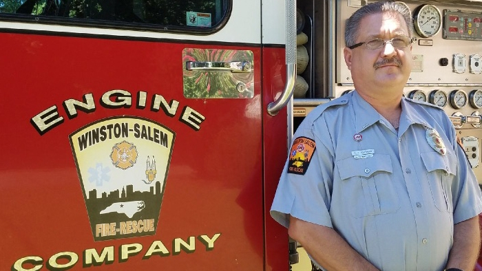 New day for a sidelined firefighter