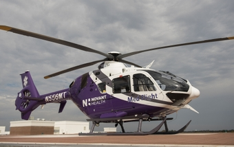 A flying critical care unit