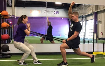 EXOS helps athletes recover, prevent future injuries