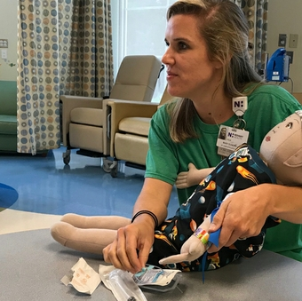 'Medical play' helps young patients