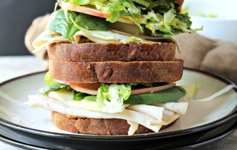 Not  your average Thanksgiving leftover sandwich