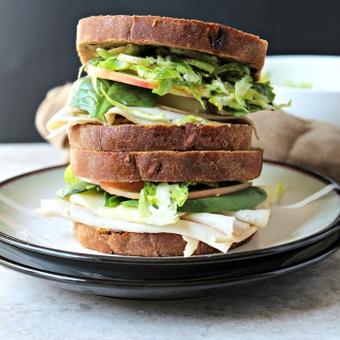 Thanksgiving Leftovers Sandwich