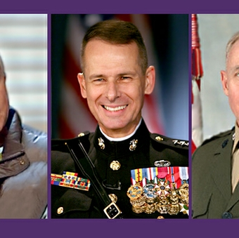 Doctors team up to care for 3 top Marine Corps generals
