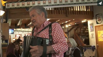 He's back with his accordion thanks to TAVR heart procedure