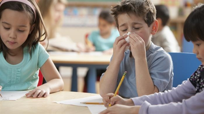 How to battle school germs coming home with your kid