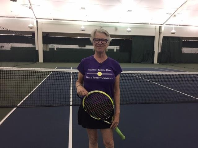 Her secret weapon in battle with cancer: tennis