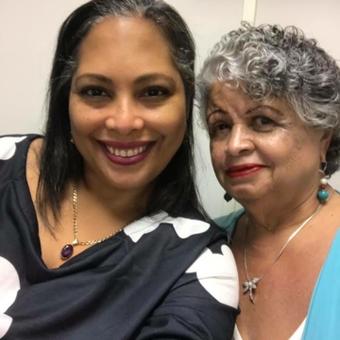 Nilda and mom