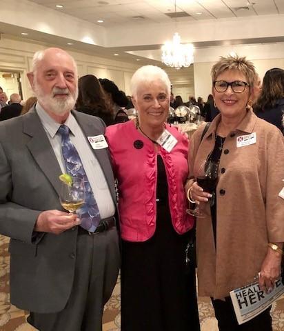From left to right: Jean W. Pelletier, Fran Salone-Pelletier and Deborah Rochelle