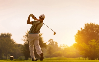 Mako knee surgery gets golfer back in the swing