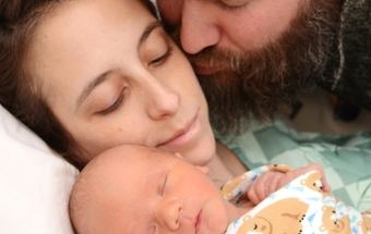 Doctors save a first-time mom, and her `miracle baby'