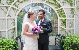 Andrea and Mahesha Herath married on October 4 2015