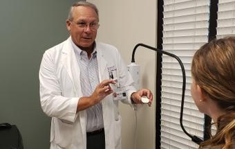 Dr. John J. Smith III a urologist at Novant Health Pelvic Health Center in Winston-Salem