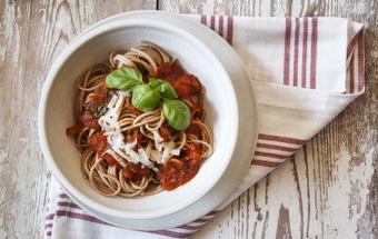 Delicious vegetarian homemade pasta sauce
