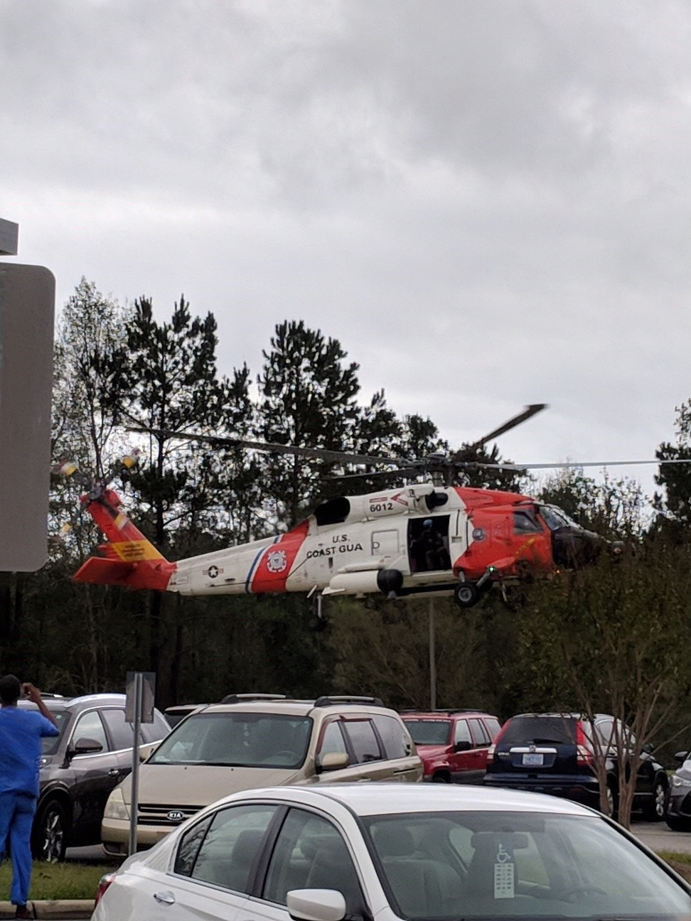 Brunswick Medical Center acted as a staging area