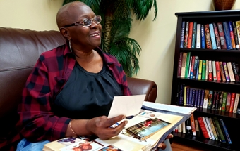 Woman breaks barriers in life and blood cancer battle
