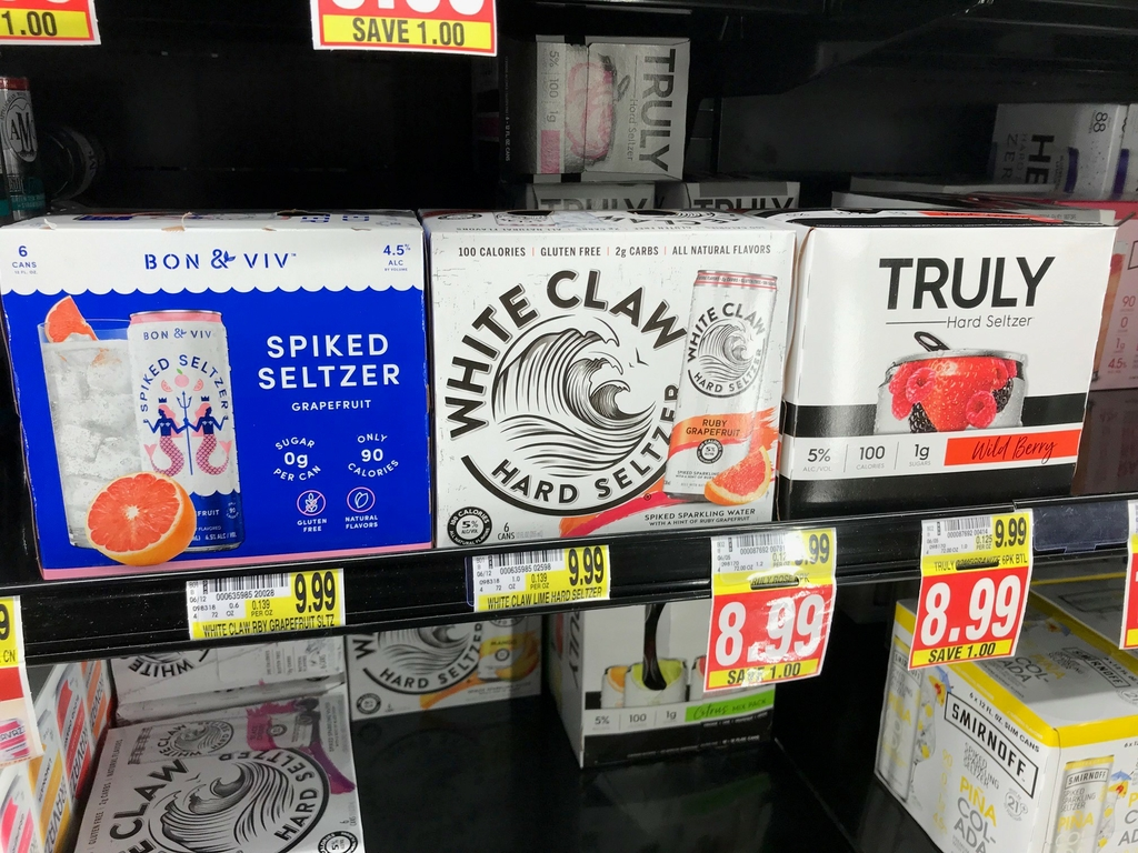 Is spiked seltzer really healthier? Here's your answer.