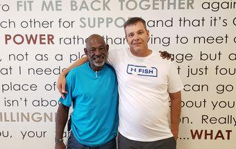 Mark Ward and David Loman at Samaritan Ministries