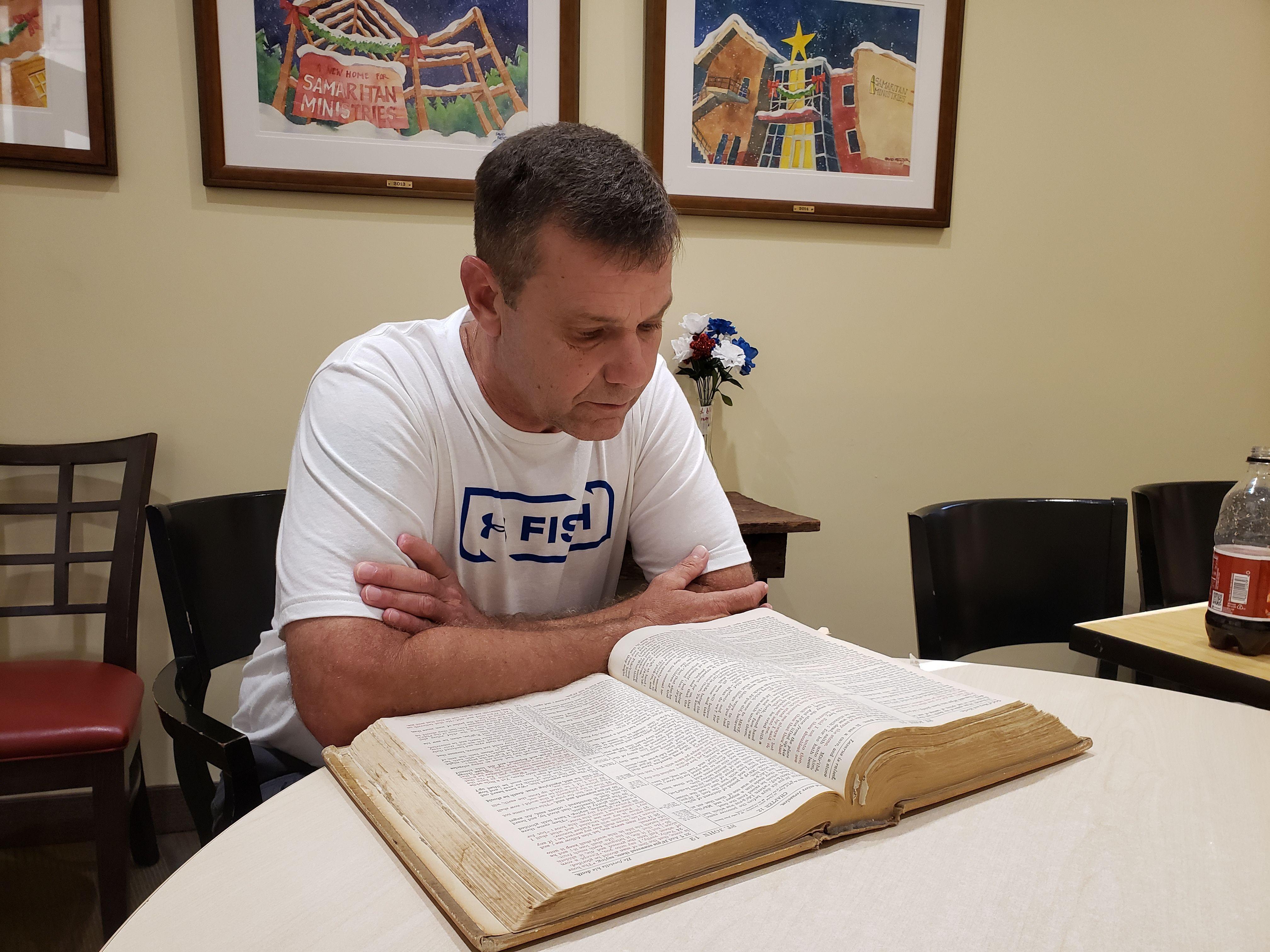 David now mentors other men at Samaritan Ministries