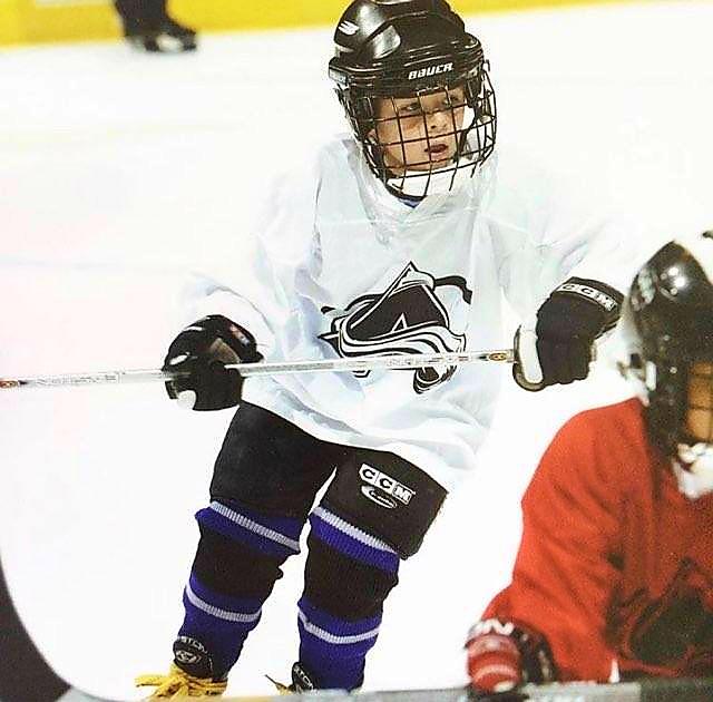 Cody Oaks childhood photo