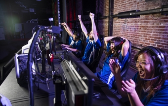 Esports carry their own set of health worries - story & podcast