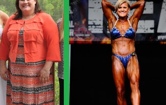 She lost 120 pounds after bariatric surgery. Now she is a professional bodybuilder - story & podcast