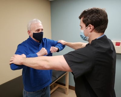 Unbearable neck pain and no relief. Then he found the right doctor