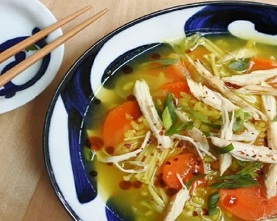 Chicken soup with a twist