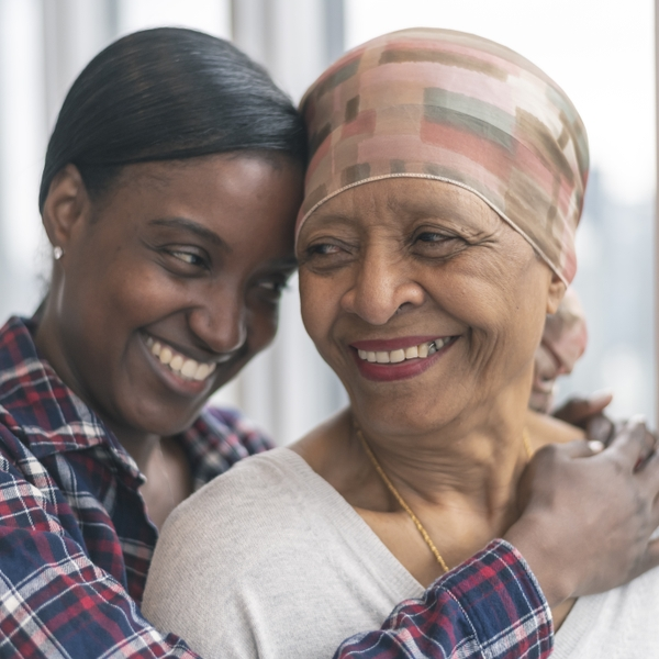 Courageous woman with cancer spends precious time with adult daughter