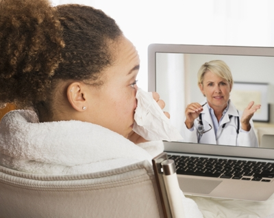 Virtual visits can limit your exposure to viruses
